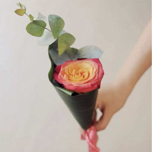 Роза, эвкалипт