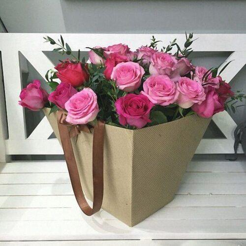21 роза, итальянский рускус